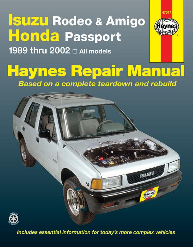 New 1998 Honda Passport Electrical Troubleshooting Service Manual