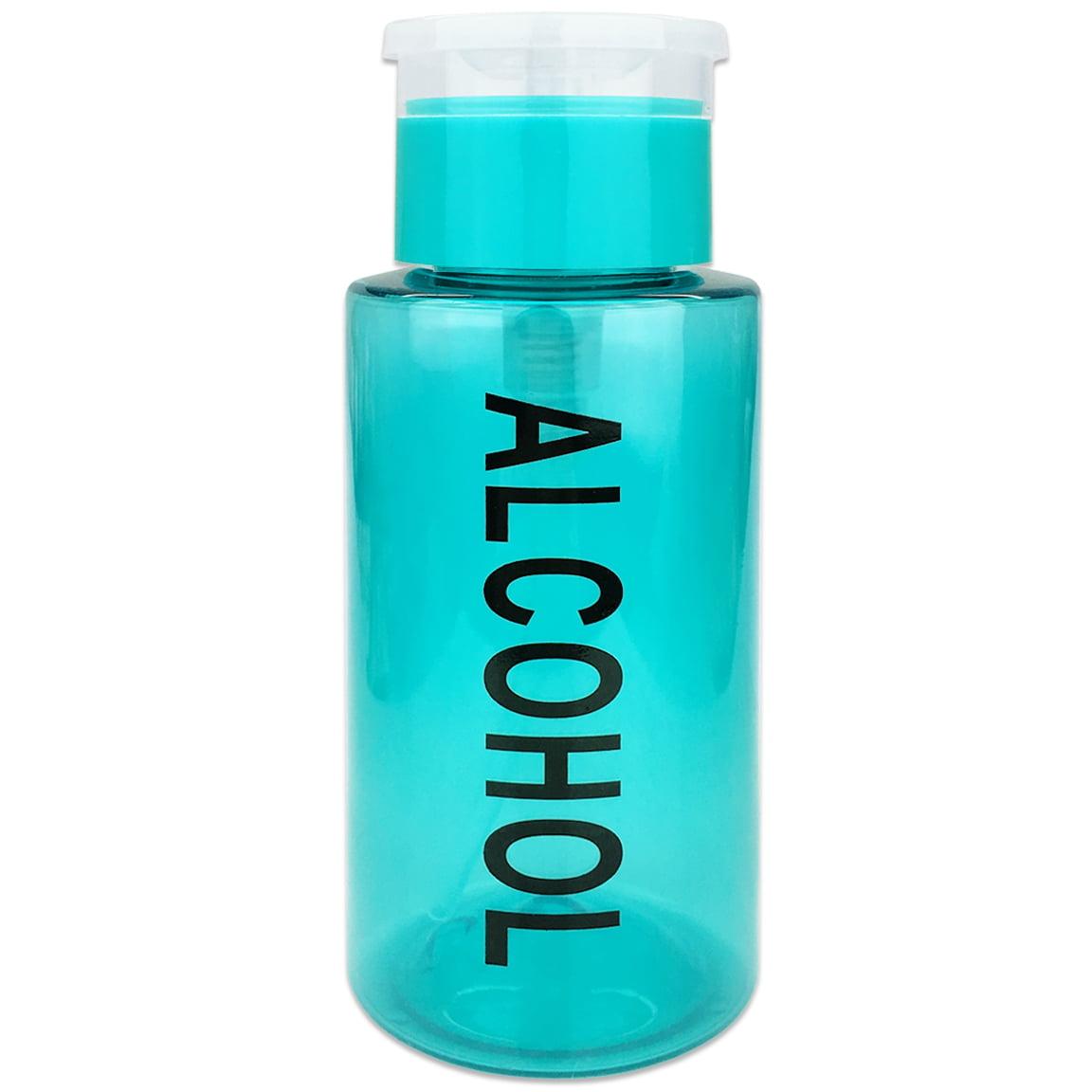 Pana High Quality 7oz Liquid Pump Dispenser With Alcohol Label - Purple