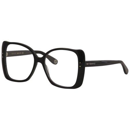 Gucci Gucci Logo GG0473O Eyeglasses 001 Black Gucci Gucci Logo GG0473O Eyeglasses 001 Black