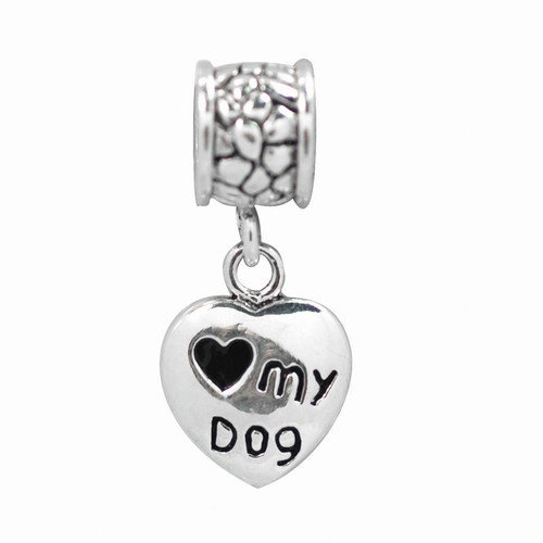 DeBuman My Dog Dangle Fashion Charm