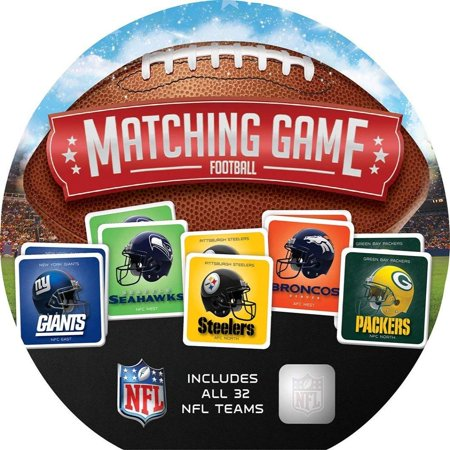 NFL Matching Game, Features your favorite teams from around the country By MasterPieces - Halloween Pumpkin Matching Game