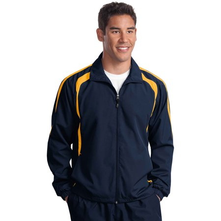 Sport-Tek Men's Lightweight Colorblock Raglan Jacket ()