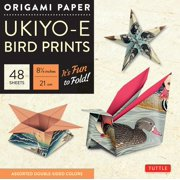 """Origami Paper - Ukiyo-E Bird Prints - 8 1/4"""" - 48 Sheets: Tuttle Origami Paper: High-Quality Origami Sheets Printed with 8 Different Designs: Instructions for 7 Projects Included (Other)"""