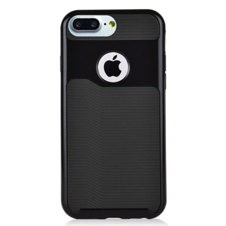 Insten Slim Dual Layer Hybrid PC/TPU Rubber Case Cover for Apple iPhone 8 Plus / iPhone 7