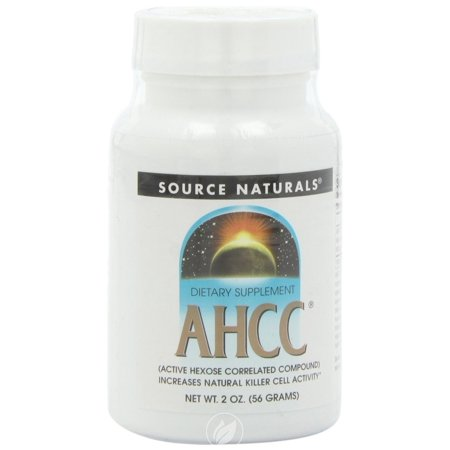 - Source Naturals - AHCC Active Hexose Correlated Compound Powder - 2 oz.