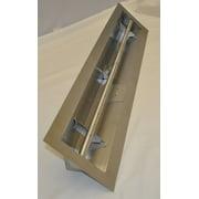 HPC 48 Inch Stainless Steel Firepit Trough Burner - LPG Model