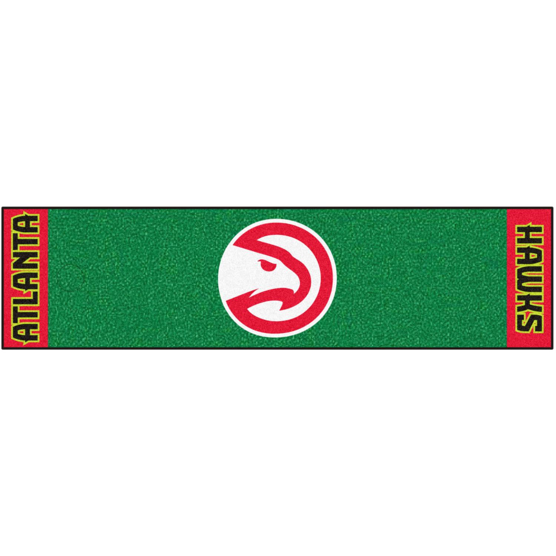FanMats NBA Atlanta Hawks Putting Green Mat
