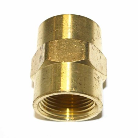 Coupling Adaptor (FPC990 Brass Female Coupling Adapter 3/4 Inch x 3/4 Inch NPT Female, Threads: 3/4 inch x 3/4 inch NPT Female - Machined (Provides seal tight threads) By Interstate)