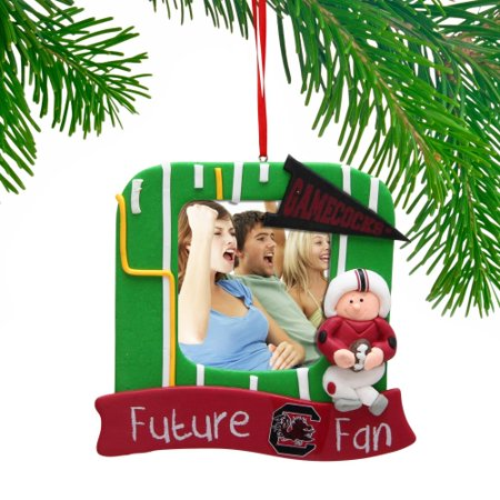 South Carolina Gamecocks Claydough Field Photo Frame Ornament - No Size