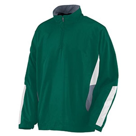 - Augusta Drop Ship Adult Water Resistant Polyester Diamond Tech Half Zip Pullover