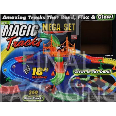 As Seen on TV Magic Tracks Mega Set