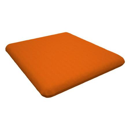 Trex Outdoor Furniture 16.5 in. Seat Cushion (T-rex Stripe)