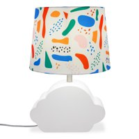 Patterned Shade with Ceramic Cloud Shaped Base by Drew Barrymore Flower Kids