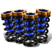 For 1988 to 2000 Civic / CRX / Del Sol / Integra Aluminum Scaled Coilover Kit (Black Springs Blue Sleeves) 00 99 98 97 96 95 94