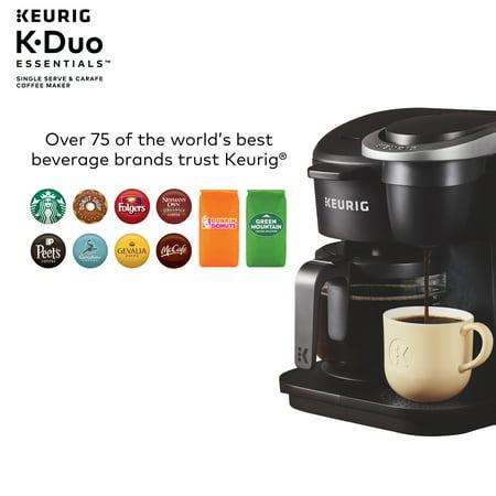 Keurig K-Duo Essentials Single Serve & Carafe Coffee Maker