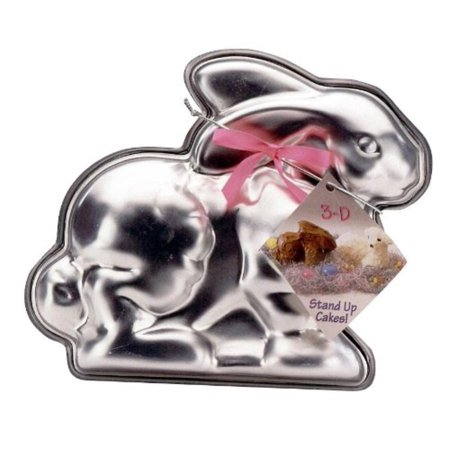 Easter Bunny 3-D Cake Mold, Cast aluminum By Nordic Ware