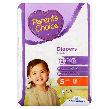 Parent's Choice Diapers, Size 5, 18 Diapers–Walmart-Cash Back