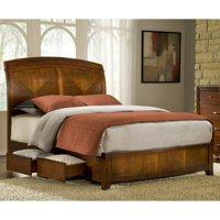 Modus Brighton Wood Storage Bed in Cinnamon-Twin