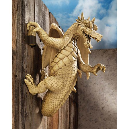 Dragon Sculpture (Dread, the Dangling Dragon Wall)