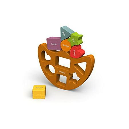 BeginAgain - Balance Boat Shapes and Colors, Make Learning Fun and