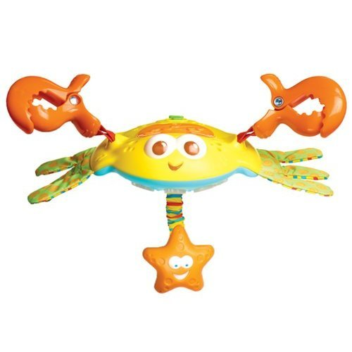 Tiny Love Crosby Clip-On Crab Stroller Toy