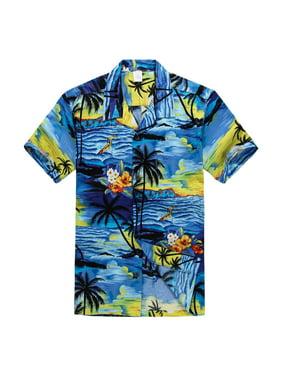 0ded964b Product Image Hawaiian Shirt Aloha Shirt in Sunset Blue