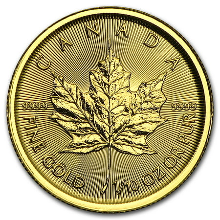 2015 Canada 1/10 oz Gold Maple Leaf BU (Best Price Silver Maple Leaf Coins)