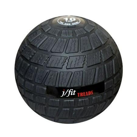 j/fit Dead Weight Treads Slam Ball - 10lb