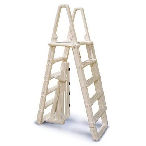 "CONFER 7100B Evolution A-Frame Above Ground Swimming Pool Ladder 48""-54"""