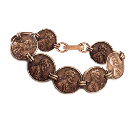 - Copper Penny Coin Bracelet