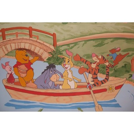 Laminated Poster Wall Painting Winnie The Pooh Wall Decoration Poster Print 24 x 36 (Winnie The Pooh Decorations)