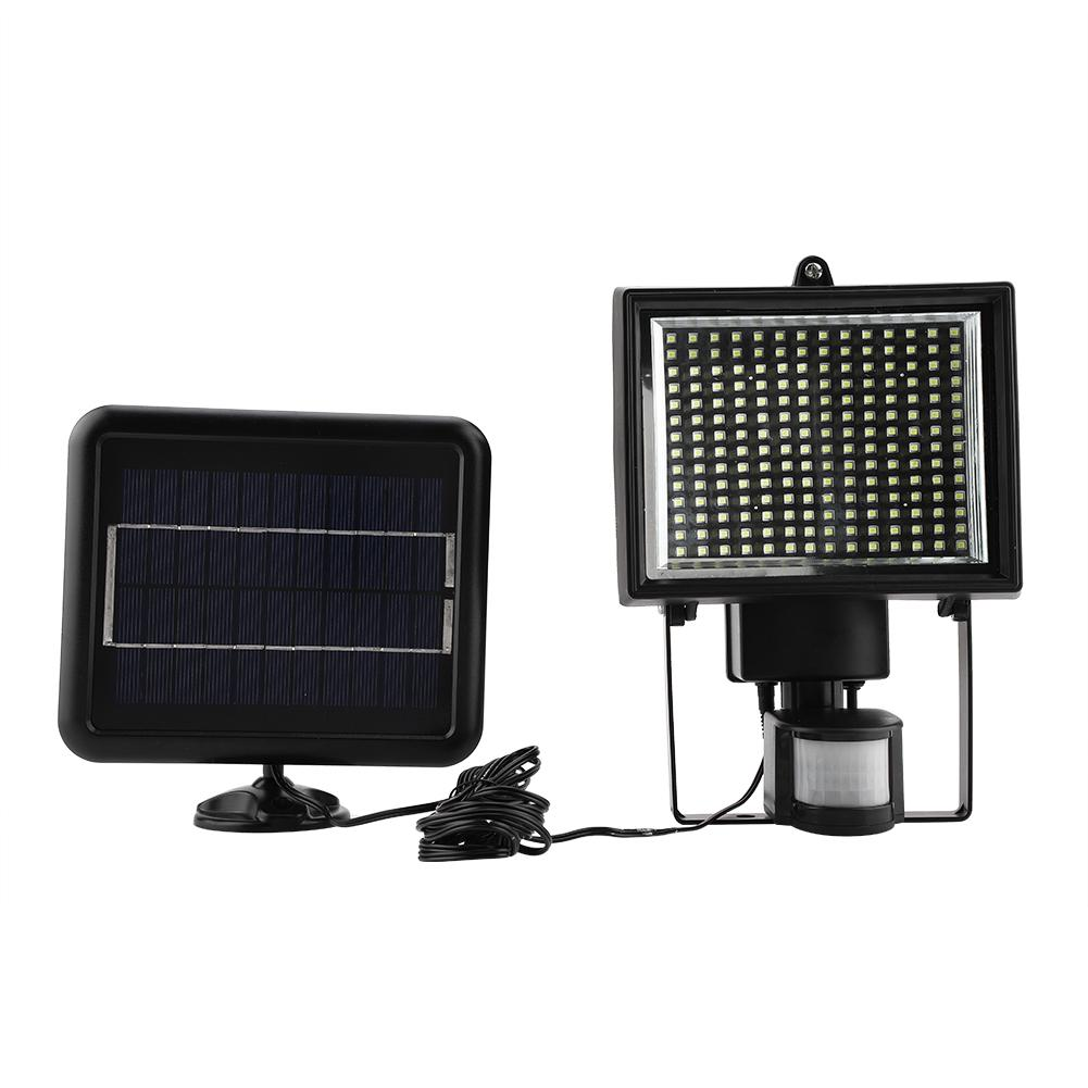 Yosoo 196LED Waterproof LED Solar Power Motion Sensor Wall Light Outdoor Street Yard Security Lamp Led Lighting