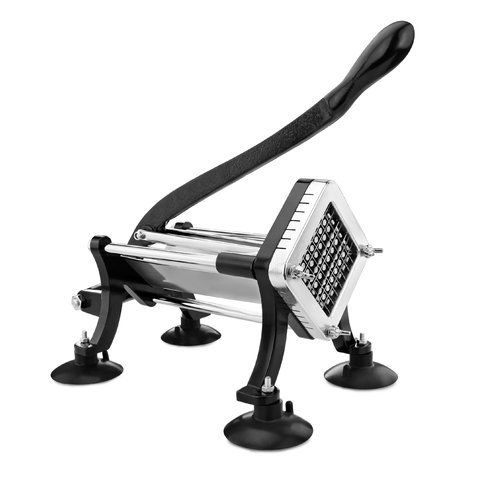 New Star Food Service Commercial Grade French Fry Cutter with Suction Feet