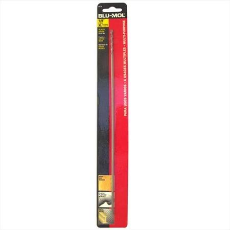 Disston 6674 Blu-Mol 0.13 In. Diameter X 12 In. L, Black Oxide Extra Length Drill (12 Black Oxide Drill Bit)