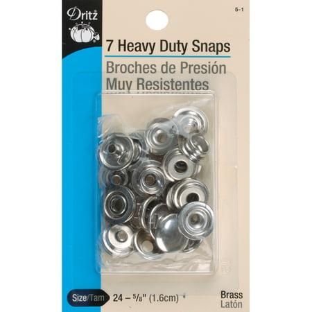 Heavy Snaps (Dritz Heavy - Duty Snaps 5/8
