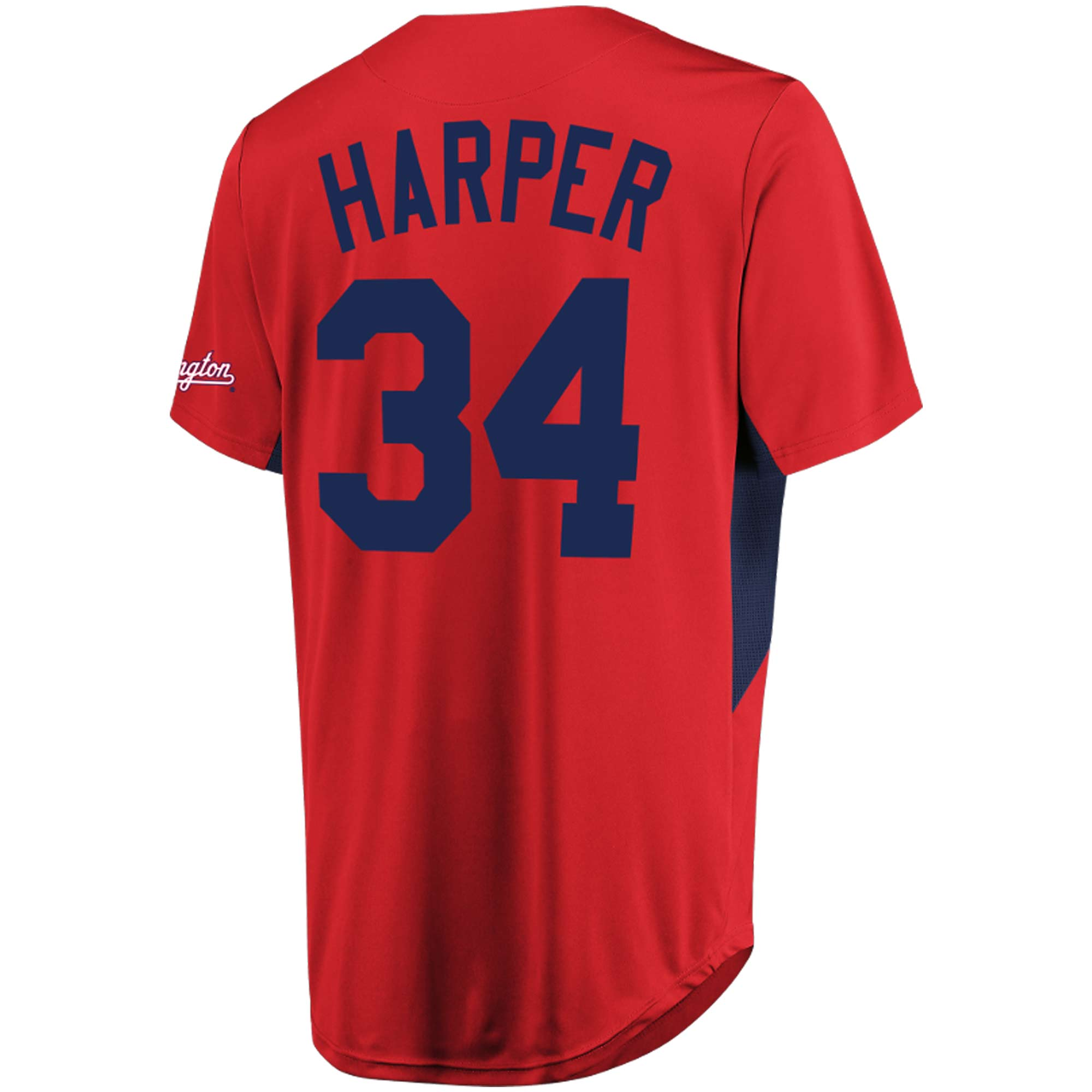 buy popular 82a02 f9e28 Bryce Harper Washington Nationals Majestic MLB Jersey - Red ...