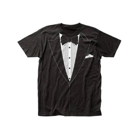Impact Originals Manufacturer Design Tuxedo Adult Big Print Subway T-Shirt (Best Tuxedo For Big Man)