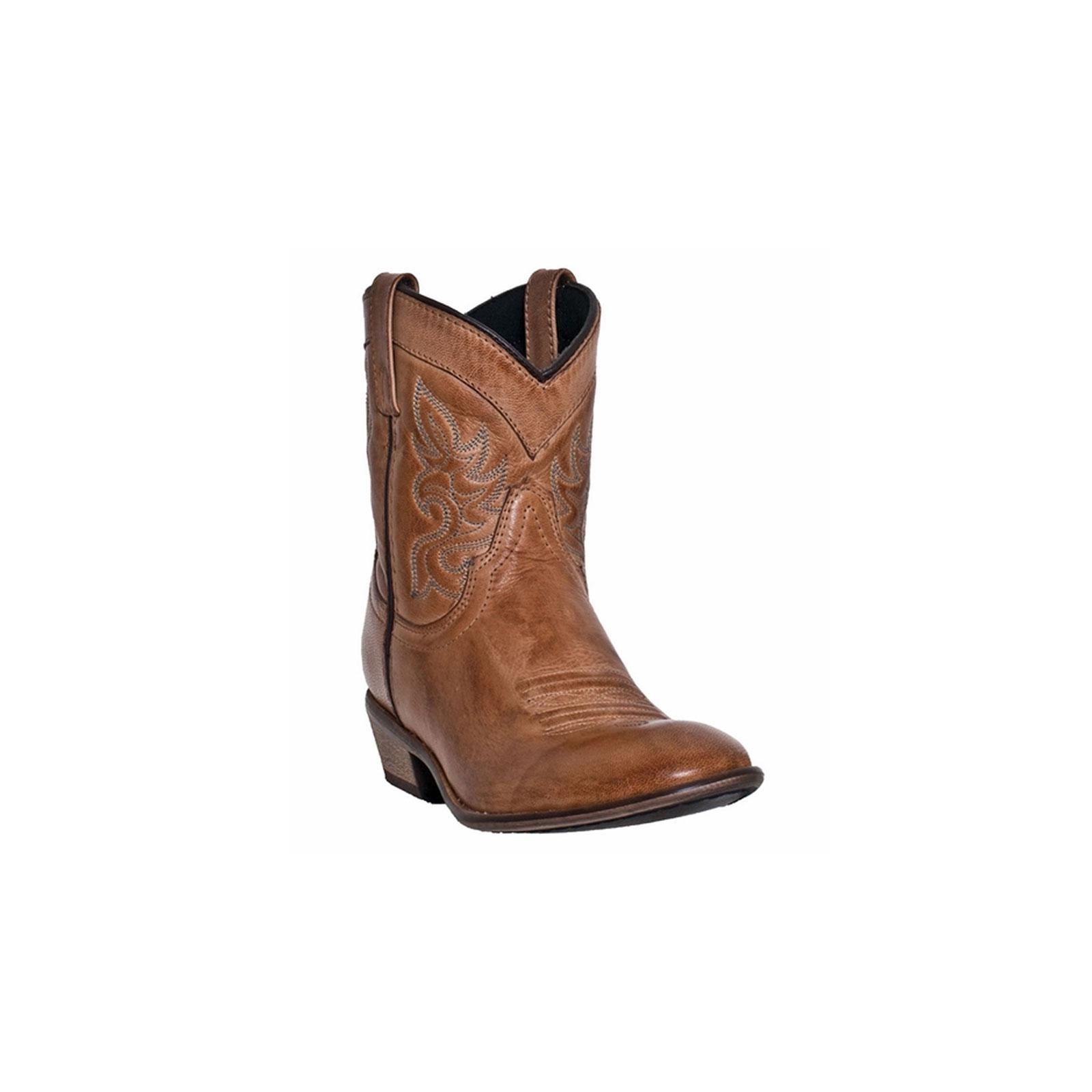 Dingo Antique Western Boots Womens Willie Antique Dingo Collar Tan DI 862 7dea44