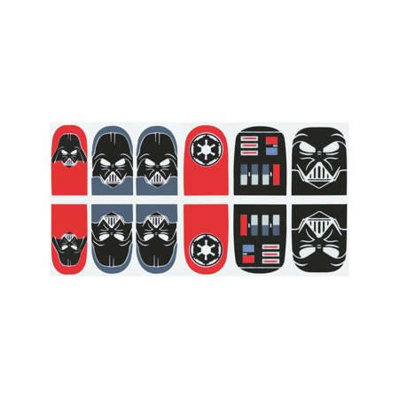 Darth Vader Costume Accessories (Star Wars Darth Vader Nail Stickers Halloween Costume)