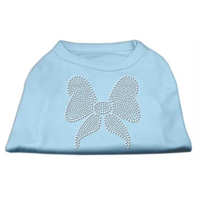 Mirage Pet Products 52-15 XSBBL Rhinestone Bow Shirts Baby Blue XS - 8 - image 1 de 1