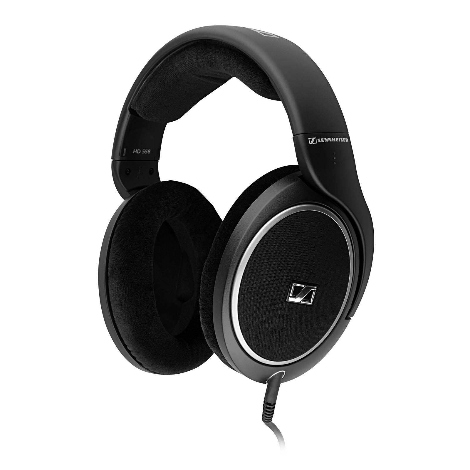 Sennheiser HD 558 Over the Ear Headphones Black by Sennheiser