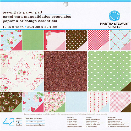 Martha Stewart Crafts Vintage Girl Paper Pad