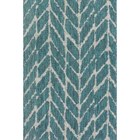 Havenside Home  Wilminton Indoor/ Outdoor Abstract Chevron Area Rug - 2'2 x 3'9