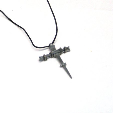 Nail Cross Necklaces](Horseshoe Nail Cross Necklace)