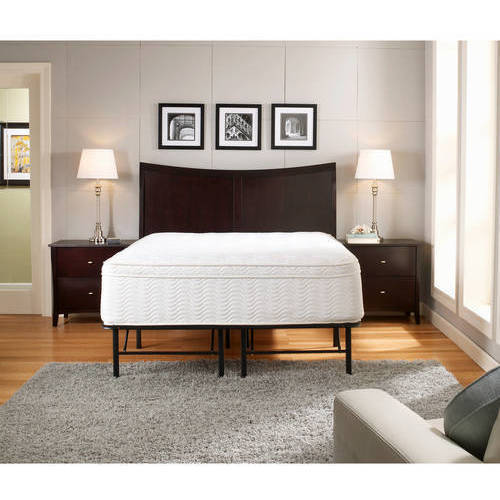 premier platform 14u0026quot metal base foundation bed frame multiple sizes image 3 walmart