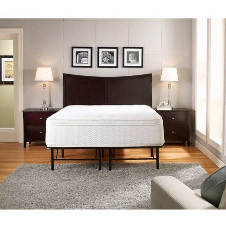 premier platform 14 metal base foundation bed frame multiple sizes walmartcom