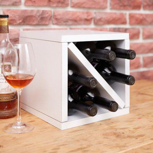Ebern Designs Tamez Eco zBoard 6 Bottle Tabletop Wine Bottle Rack