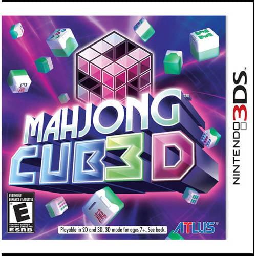 Mahjong Cub 3D (Nintendo 3DS) - Pre-Owned