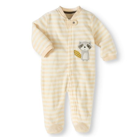 06dd223dd851 Newborn Boy or Girl Unisex Microfleece Blanket Sleeper Pajamas ...