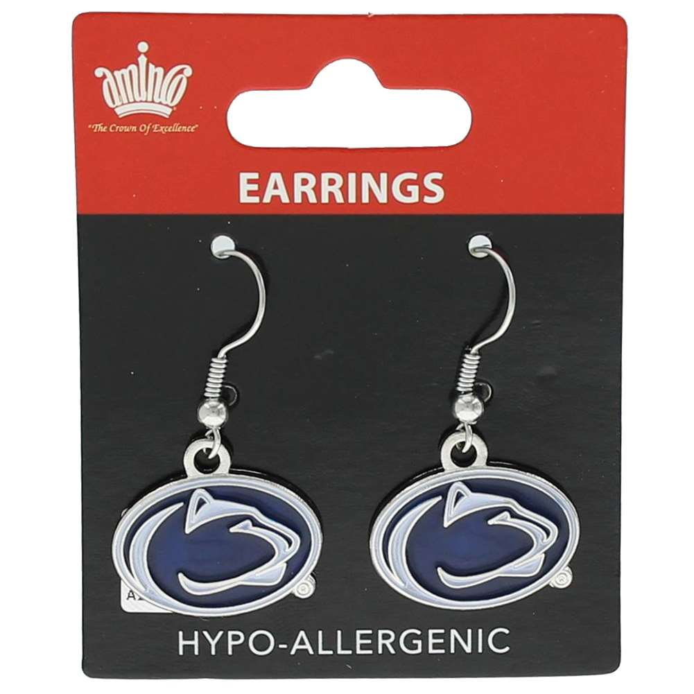 Penn State Nittany Lions Dangler Earrings